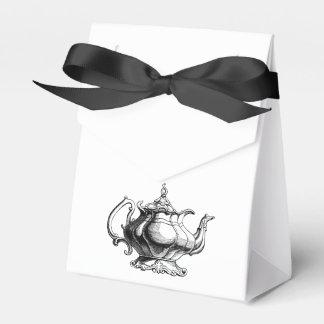 Vintage Tea pot Custom Wedding  Favour gift bags Favour Box