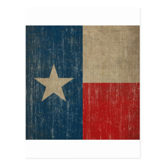 Vintage Texas Flag Postcard