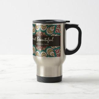 Vintage Texture Idian Colorful Design 10-01 Travel Mug