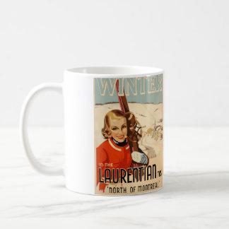 vintage themed mug