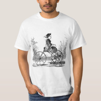 Vintage Three Wheel Bicycle Trike T-Shirt