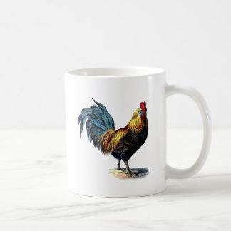 Vintage to rooster mug