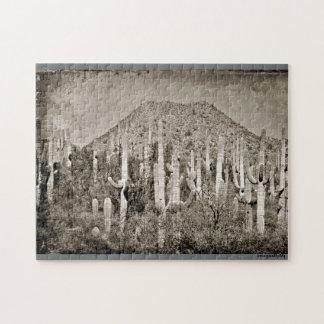 Vintage Tonto Mountains Puzzle
