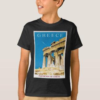 Vintage Travel Athens Greece Parthenon Temple T-Shirt