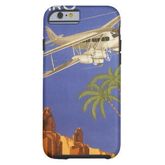 Vintage Travel Cairo Egypt Africa Aeroplane Tough iPhone 6 Case