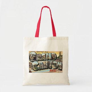 Vintage Travel Greetings from Grand Canyon Arizona Tote Bag
