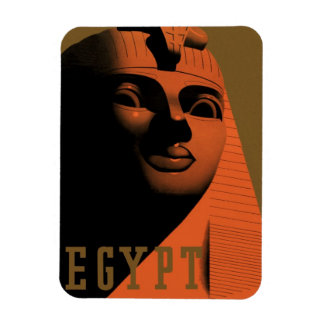 Vintage Travel Poster, Egypt, Africa with Sphinx Magnet
