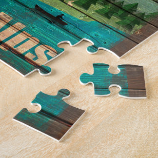Vintage Travel Poster Jigsaw Jigsaw Puzzle