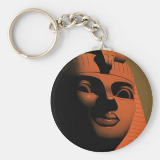 Vintage Travel Poster with Sphinx, Egypt, Africa Key Ring
