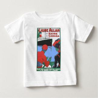 Vintage Travel Posters: Allan Line Glasgow London T Shirts