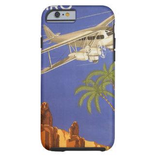 Vintage Travel to Cairo, Eygpt, Biplane Aeroplane Tough iPhone 6 Case