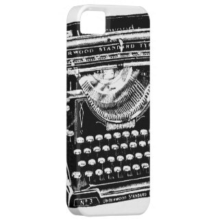 Vintage Typewriter Illustration iPhone 5 Case