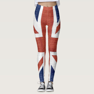 Vintage UK Flag #2 Leggings