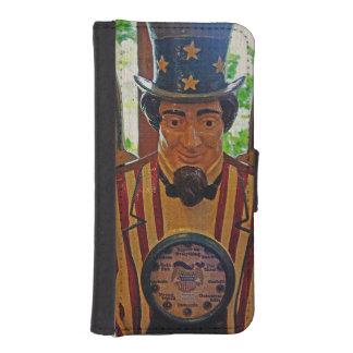 Vintage Uncle Sam iPhone SE/5/5s Wallet Case