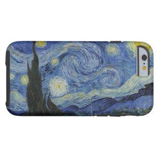 Vintage Van Gogh Starry Night Tough iPhone 6 Case