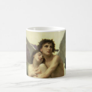 Vintage Victorian Angel, Ravishment by Bouguereau Coffee Mug