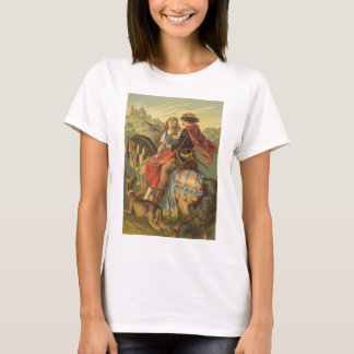 Vintage Victorian Fairy Tale, Brother and Sister T-Shirt