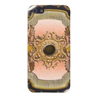 Vintage victorian floral swirls elegant iPhone 5 cases