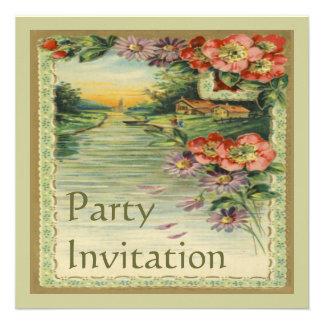 Vintage Victorian Party Invitation