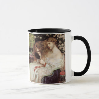 Vintage Victorian Portait, Lady Lilith by Rossetti Mug