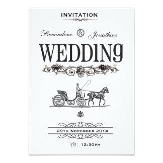 Vintage Victorian Wedding Invitation