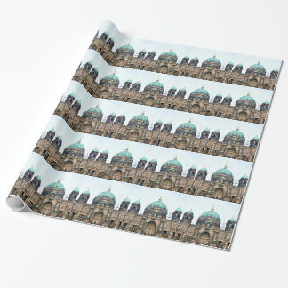 Vintage view of Berlin Cathedral (Berliner Dom) Wrapping Paper