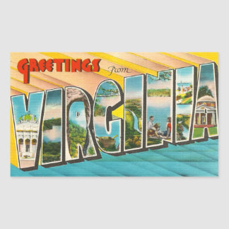 Vintage Virginia Sticker
