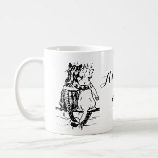 Vintage Wain Cat Home Art Coffee Mug