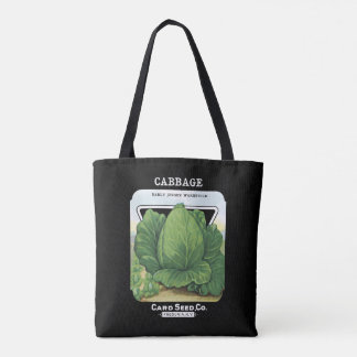 Vintage Wakefield Cabbage Vegetable Fredonia, NY Tote Bag