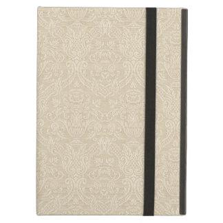 Vintage Wallpaper Beige Floral Elegant Damask iPad Air Cover