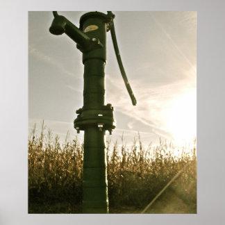 Vintage Water Pump | Poster