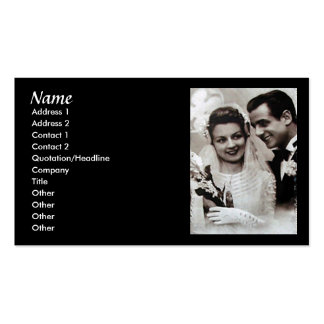 Vintage Wedding Consultant Card Business Cards