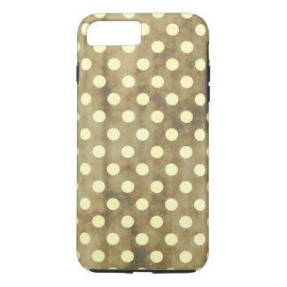 Vintage White Polk Dots iPhone 7 Plus Case