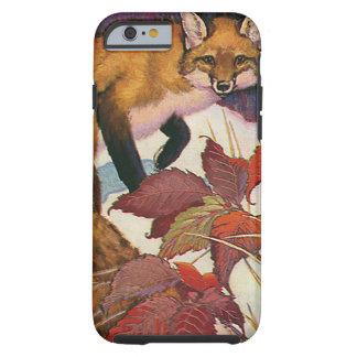 Vintage Wild Animals, Forest Creature, Red Fox Tough iPhone 6 Case