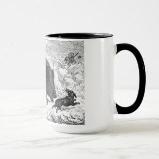 Vintage Wild Boar Hunt Mug