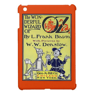 Vintage Wizard of Oz Book Cover iPad Mini Cover