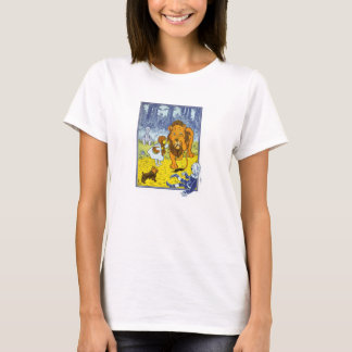 Vintage Wizard of Oz Dorothy and the Cowardly Lion T-Shirt
