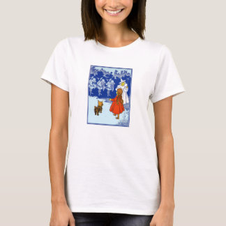 Vintage Wizard of Oz Dorothy and the Munchkins T-Shirt