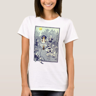 Vintage Wizard of Oz, Dorothy Meets the Munchkins T-Shirt