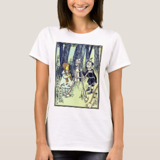 Vintage Wizard of Oz, Dorothy Meets the Tinman T-Shirt