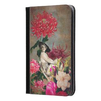 Vintage Woman Flower Collage iPad Mini Case