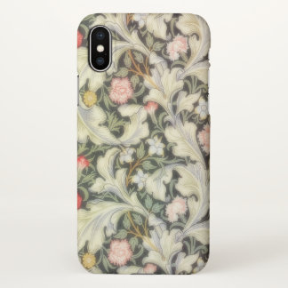 Vintage Woodland Fantasy Floral Pattern iPhone X Case
