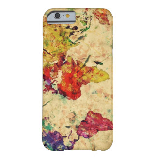 Vintage world map barely there iPhone 6 case