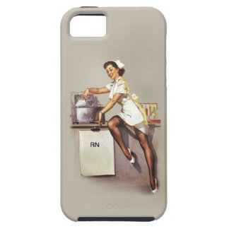 Vintage World War 2 PinUp Nurse iPhone 5 Cover