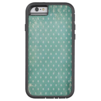 Vintage Worn Turquoise Wallpaper Tough Xtreme iPhone 6 Case