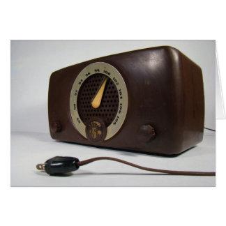 Vintage Zenith Radio Blank Note Card