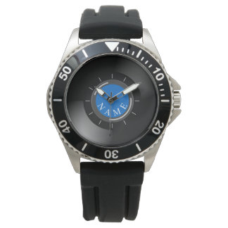 VINYL RECORD | with monogram or text Watch