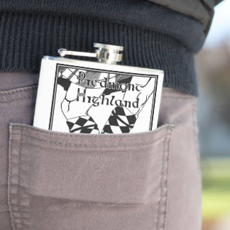 vinyl wrapped flask - Piedmont Highland Dance