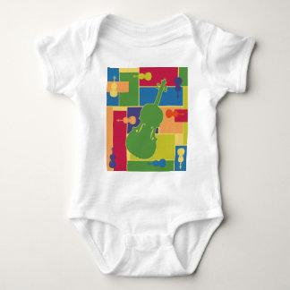 Viola Colorblocks Baby Bodysuit