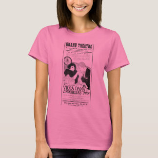 Viola Dana Cinderella's Twin 1921 vintage ad T-Shirt